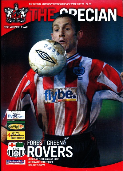 exeter_forest_green_programme290105