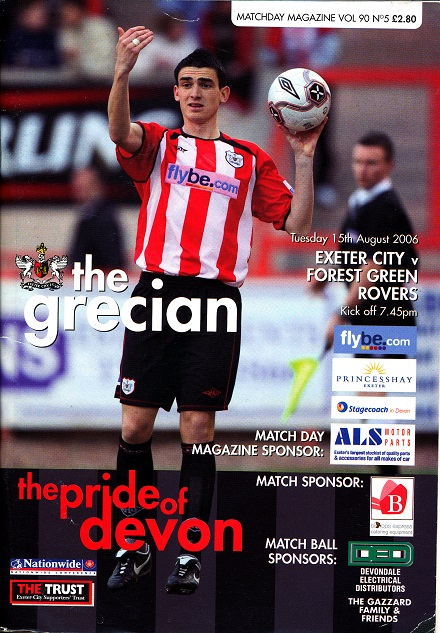 exeter_forest_green_rovers_programme150806