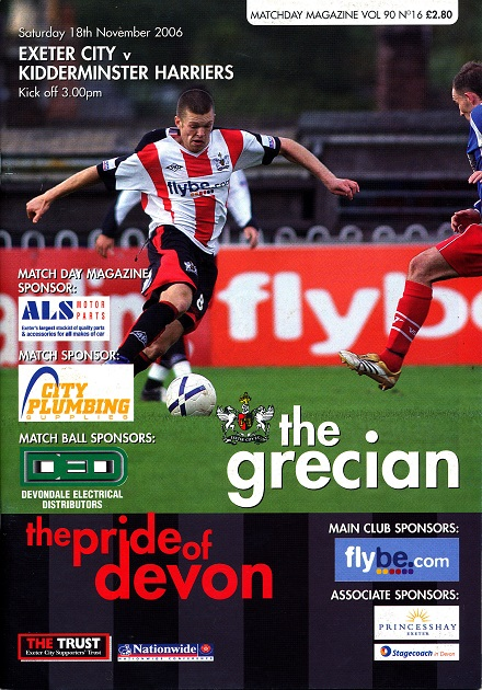 exeter_kidderminster_harriers_programme181106