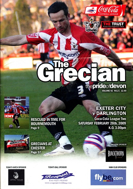 exeter_darlington_programme280209