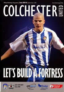 colchester_united_exeter_programme141109