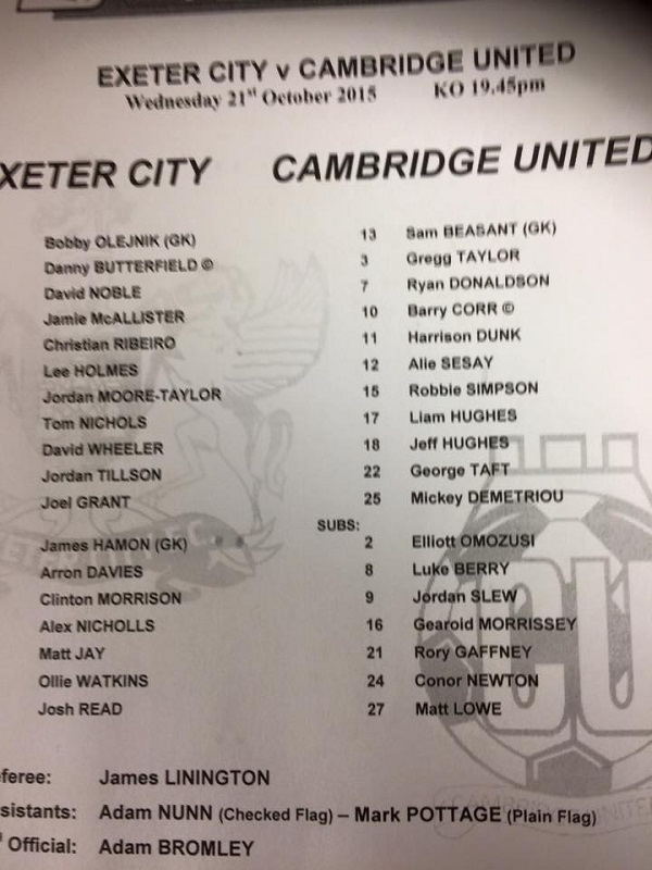 exeter_cambridge_teamsheet211015