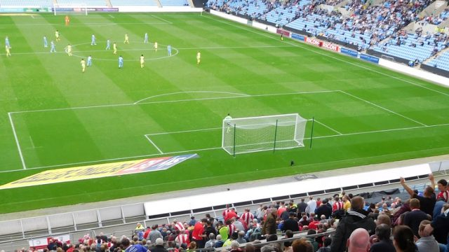 Coventry Exeter at the Ricoh